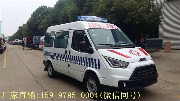 江铃特顺救护车7月中旬订购,目前已顺利交车